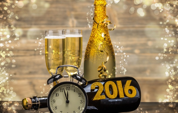 Короткие поздравления с новым годом 2016 7