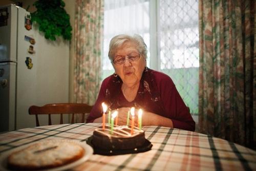 Красивое поздравление бабушке на день рождения 109