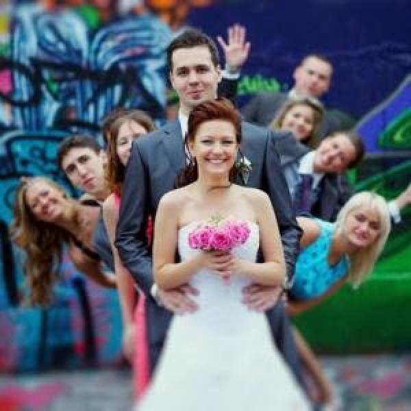 Необычные поздравления на свадьбу 104