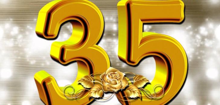Поздравление мужчине с юбилеем 35 лет 12