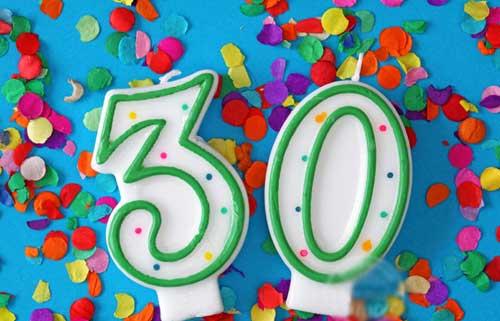 Поздравление с 30 летием своими словами 25