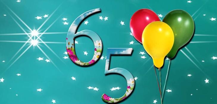 Поздравление с 65 тете 76
