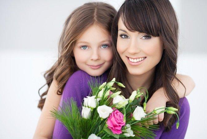 Поздравление с днем матери красивое 9