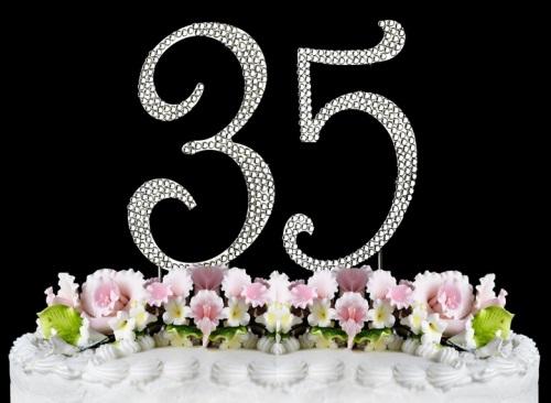 Поздравление с юбилеем 35 женщине в стихах красивые 91