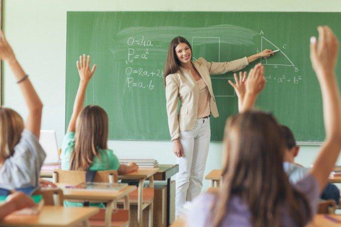Поздравление учителям своими словами 74