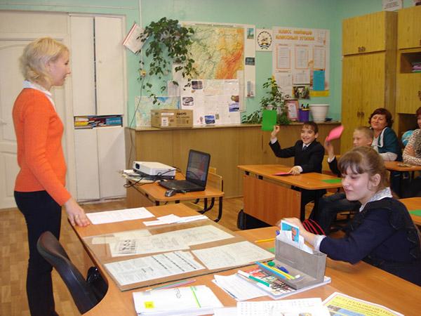 Поздравление учителю начальных классов от учеников на день учителя 28