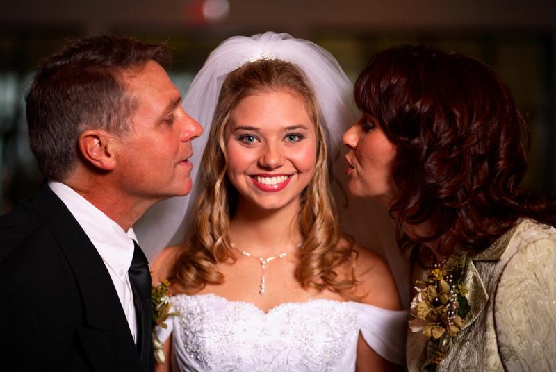 Поздравление жениха и невесты от родителей 170