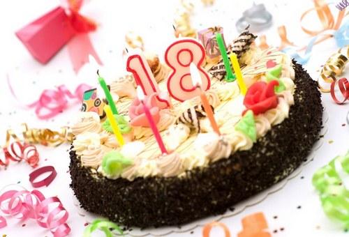 Поздравления 18 лет день рождения 160