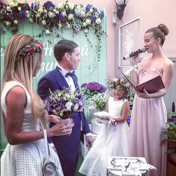 Поздравления крестной на свадьбу 106