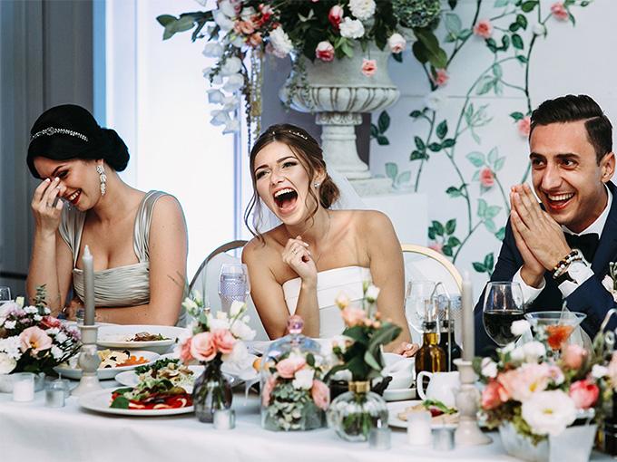 Поздравления молодым на свадьбу прикольные 16