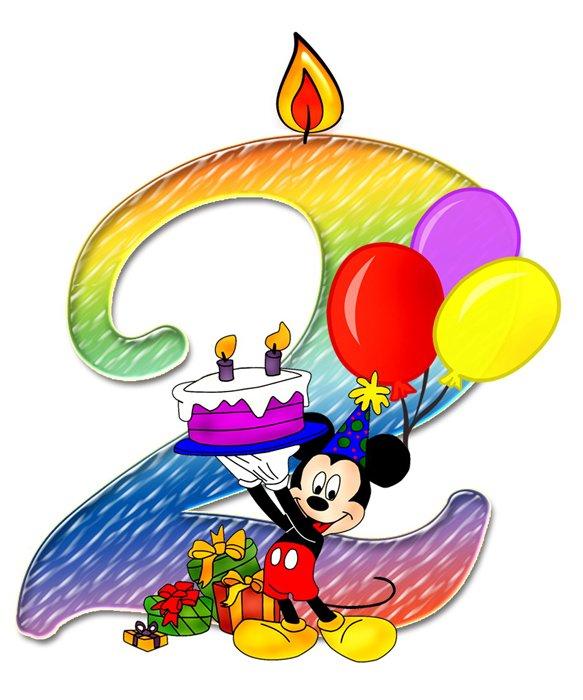 Картинка с днем рождения малышке 2 года девочке