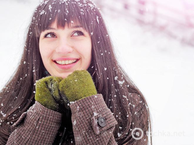 Поздравления с первым снегом 58