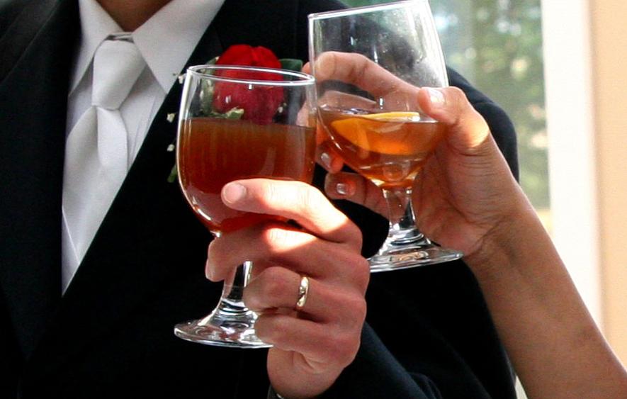 Поздравления со свадьбой молодоженам 129
