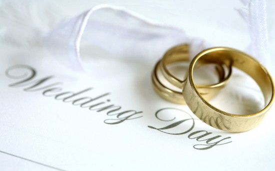 Поздравления своими словами с 1 годом свадьбы 47