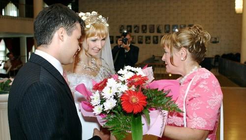 Прикольные поздравление на свадьбу от мамы 197