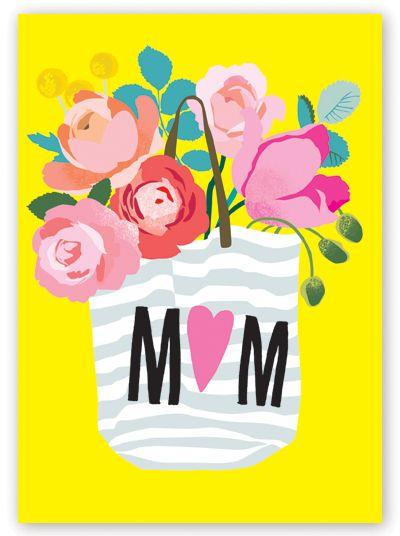 С днем матери открытка поздравление 157