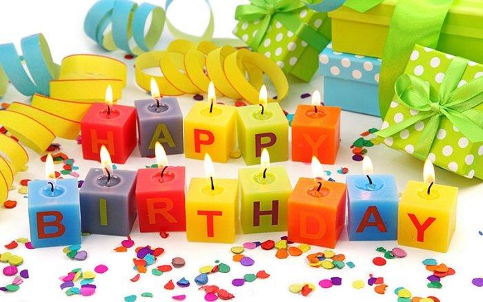 Стих с поздравлением на день рождения 119