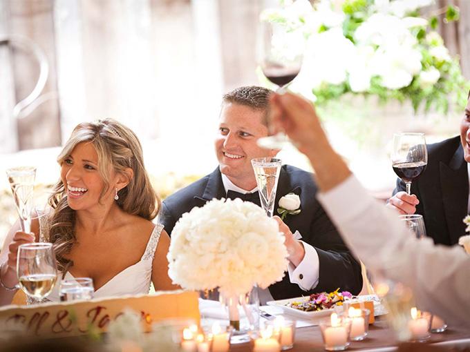 Веселое поздравление на свадьбу 100